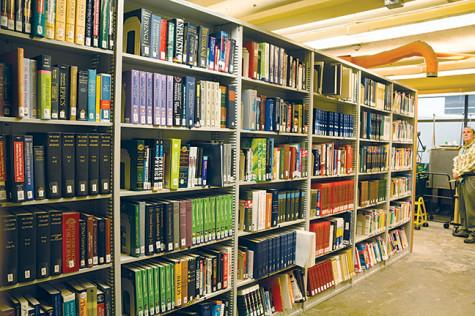 Downtown campus library getting much needed facelift