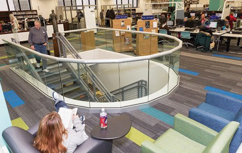 Downtown Milwaukee Campus Library puts fresh face on functionalism