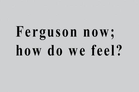 Ferguson now; how do we feel?