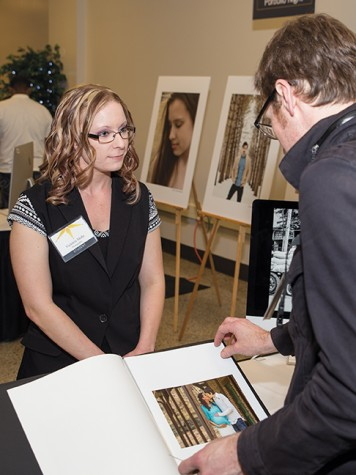 Portfolio Night gives students opportunity to shine