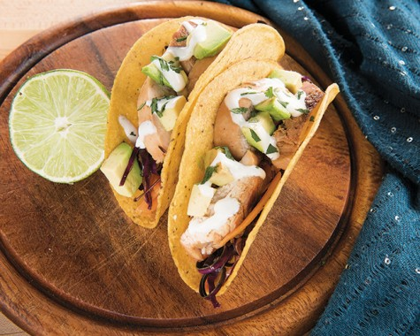Delaney's culinary delights: Thai Chicken Tacos
