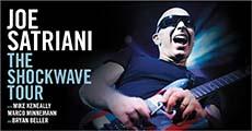 Satriani wears sunglasses at night