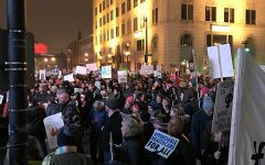 Red Arrow Park houses Trump inauguration protests