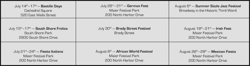 Check out these festivals this summer.