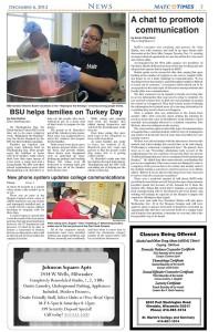 BSU helps families on Turkey Day