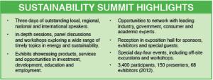 Sustainability Summit free for MATC students