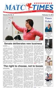 Senate deliberates new business