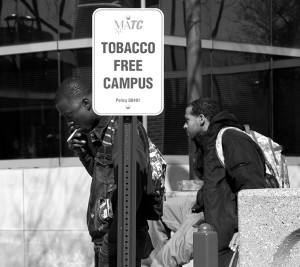 Clearing the air on tobacco policy a year later