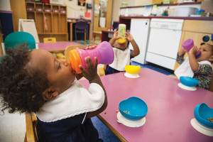 Child care services geared toward students and faculty