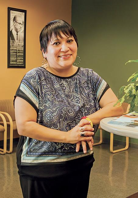 Tanya Torres is located at the downtown Milwaukee campus in room M238.
