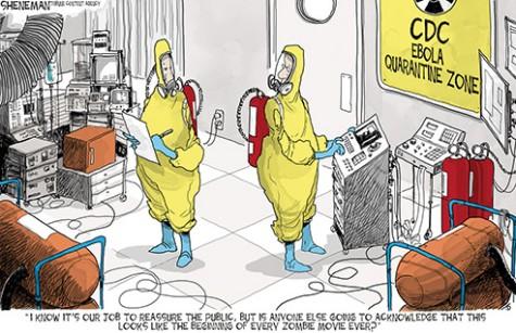 Ebola: An iceberg of media attention