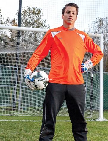 Goalkeeper Lubsey loves the job