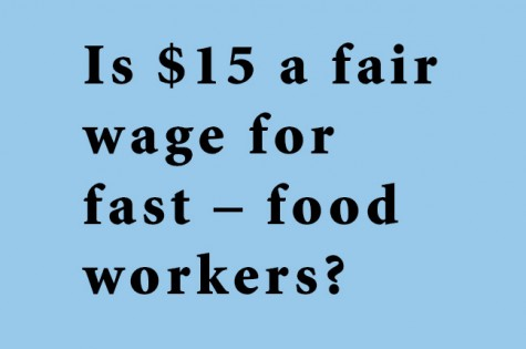 Is $15 a fair wage for fast – food workers?