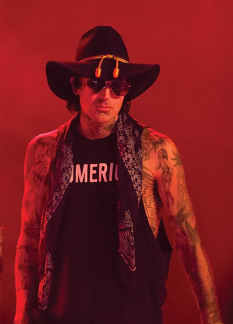 Yelawolf performs live at Turner Hall in Milwaukee, Dec. 2.