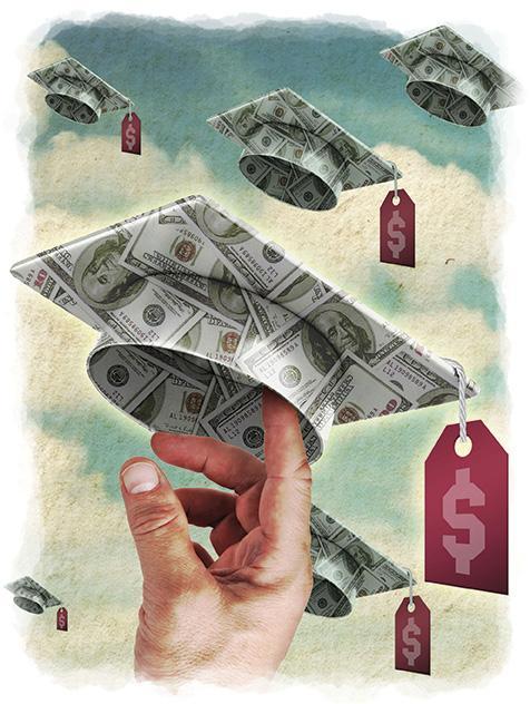 ILLUSTRATION: Student Loan