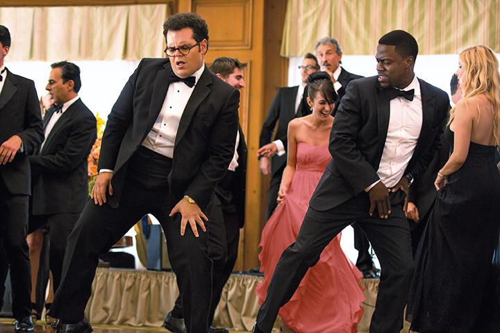 """Jimmy (Kevin Hart), right, with Doug (Josh Gad) in Screen Gems' """"The Wedding Ringer."""" (Matt Kennedy/Sony Pictures Entertainment Inc.)"""