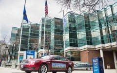 Graduate exhibits at 12th Annual Green Vehicle Showcase