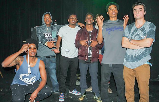 Local rap group Palm Tree Mentality has two MATC students as members.