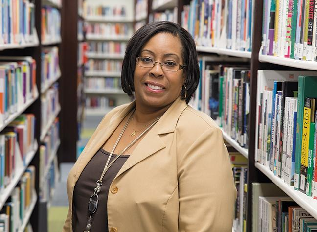 Please welcome Michelle Harrell-Washington, MLIS Manager, Library and Information Services for the newly remodeled library at the Downtown Milwaukee campus.