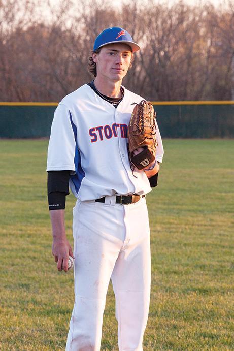 Stormer center fielder David Stevens