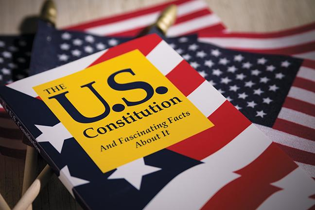 Sept.17 was Constitution Day, and MATC's Office of Student Life celebrated the day by handing out U.S. flags and a book on the U.S. Constitution, at each campus.