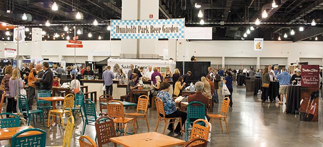 Attendees found a large variety of food and spirits at the seventh annual Wine and Dine Wisconsin Oct. 11 - 12.