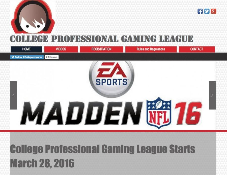 Student creates new gaming league for average gamers to get higher levels of play