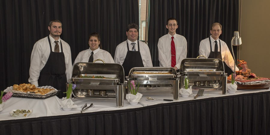 The Spring Fling was done by MATC's Catering Operation's Class. Jason Krzyzanowski; Amanda Welch; David Lozada; Aaron Olson; and Christopher Block. It was at the MATC Milwaukee Downtown campus in the Cafeteria Stage S building Third floor. It was on April 7; 11:30-12:45. Tickets were on sale for $10 and were available at the Stormers Cafe and the International Cuisine Room M628.