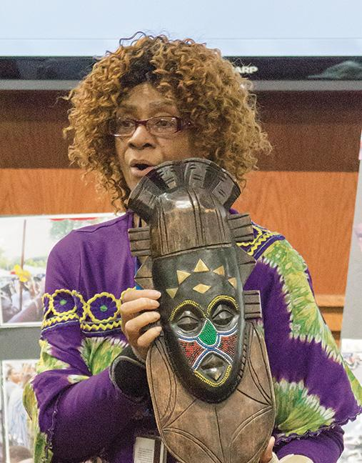 MATC hosted their 30th annual International Ethnic Fest, an educational week that celebrates the diversity and inclusion of the MATC community. On April 22, the festival featured an African-American Griot (storyteller), Brenda Coleman. She shared her experiences and travels to Ghana, Africa.