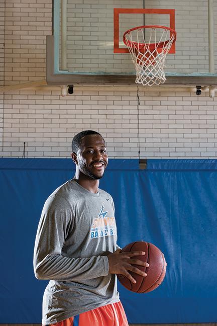 Thomas Hood, MATC men's basketball standout, received a scholarship to keep playing basketball at Davenport University in Michigan.