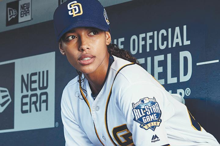 """Kylie Bunbury in the all-new series premiere episode of """"Pitch."""" (Tommy Garcia/FOX)"""