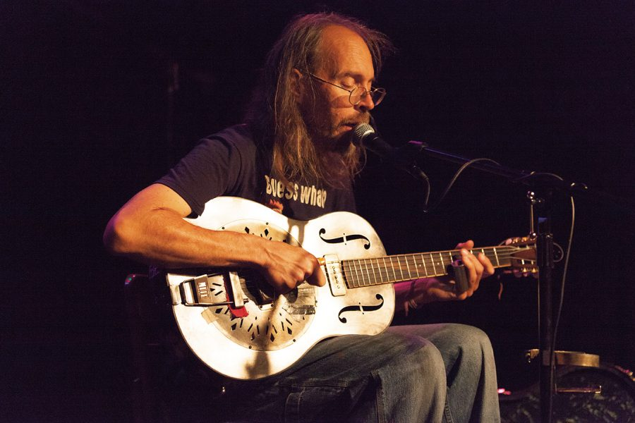 Charlie Parr is an American country blues musician who performed at Linneman's Riverwest Inn Oct. 6.