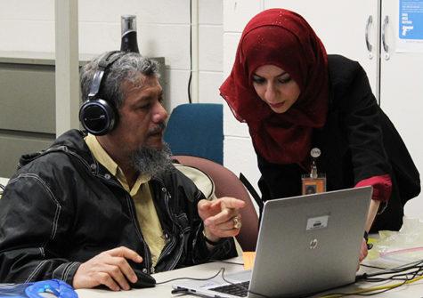 ESL students seek resources to improve skills