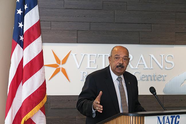 Veterans Resource Center Ribbon Cutting