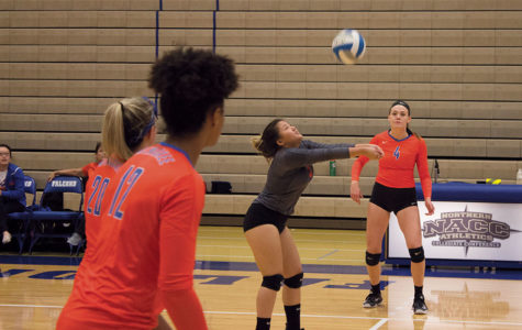 Women's volleyball spirits remained high throughout the tough season