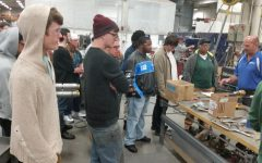 Welding Club visits Poblocki Sign Company