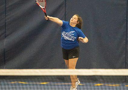 Tennis team storms over Oakton