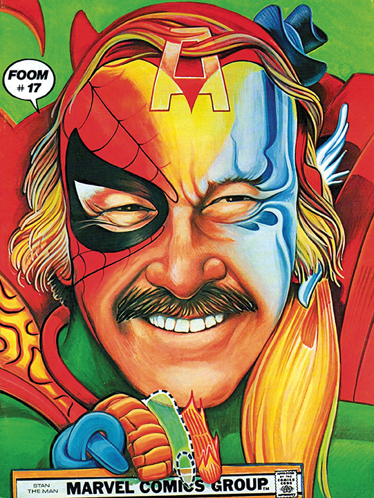 Cover to Fwoom #17. Art by Arnold Sawyer.