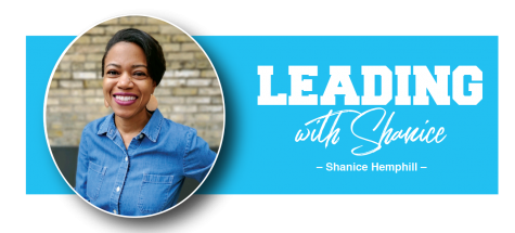 Leading With Shanice Logo