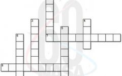 Crossword Puzzle Answers Volume 61, No.03 October 4th - December 11th 2019