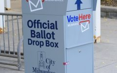 Official ballot drop boxes are located throughout the City of Milwaukee.  Voters can submit their absentee mail-in ballots  into the official boxes until  7:30 pm on November 3rd.