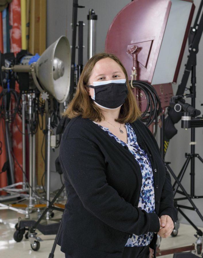 Kirsten Schmitt, Photography Instructor at MATC. Schmitt was recently hired as a part time photography instructor, and is a MATC alumni. She is also a photographer for the Milwaukee Brewers.