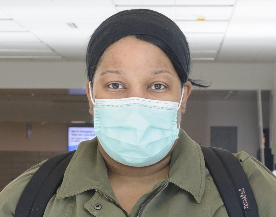 Yes I would take the vaccine because I do work in the healthcare field and it would definitely give me a chance to protect other people and myself.  -Lashanda Caston Dental Hygiene